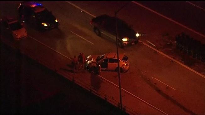 1 Injured, 1 Arrested After I-805 Crash