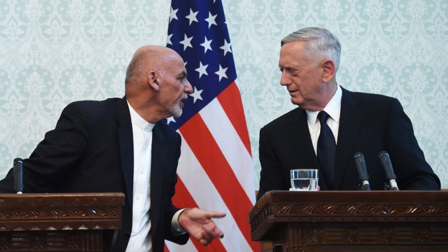 Taliban Launches Salvo of Rockets in Failed Attempt to Kill Mattis, NATO Chief