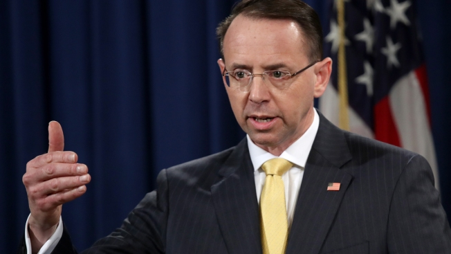 Deputy AG Rosenstein Details DOJ Efforts to Fight Election Meddling