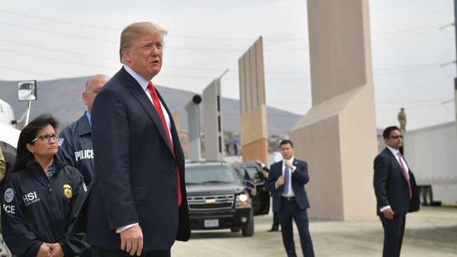 Trump Talks Up Many Walls as He Fights to Fund His Own