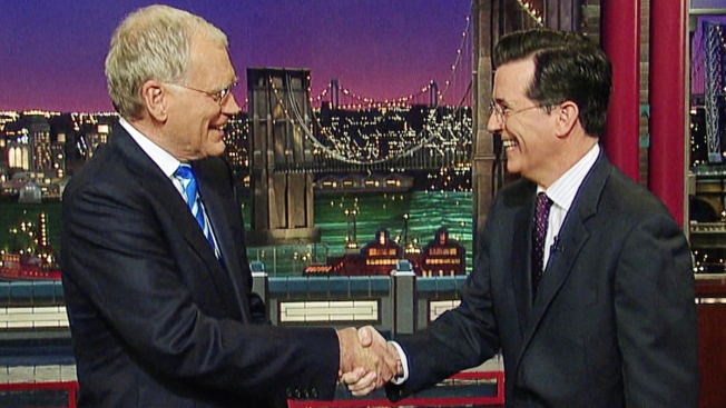 "Stars, Fans React to Stephen Colbert Taking Over ""Late Show"""