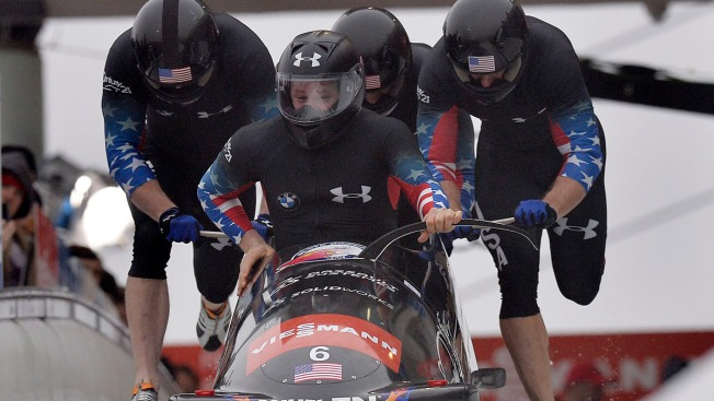 Germans Win Bobsled World Cup; 2 U.S. Sleds Crash