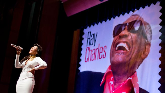 Ray Charles Honored with Limited-Edition Stamp