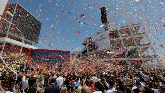 49ers' New Levi's Stadium Sees First Arrest