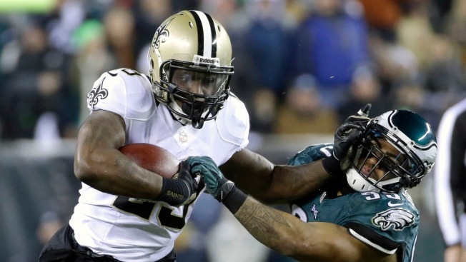 Saints Edge Eagles 26-24 in NFC Wild-Card Game
