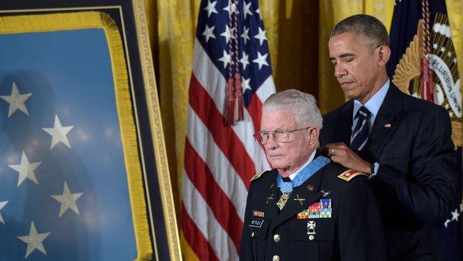 Obama Presents Vietnam War Veteran With Medal of Honor
