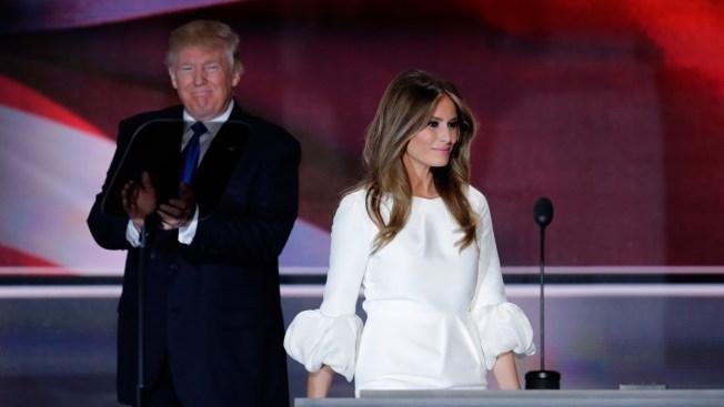 Melania Trump Steps Into Spotlight of GOP Convention
