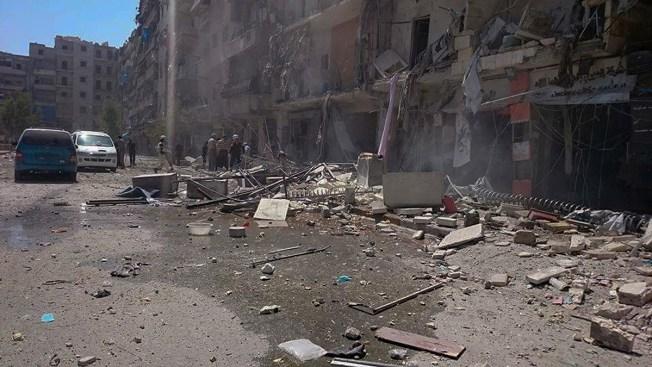 Russian-Declared Pause in Syria's Aleppo Broken