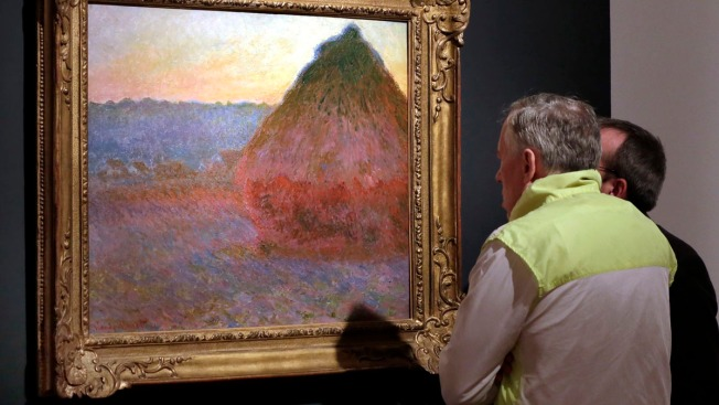 Claude Monet Painting Fetches $81.4 Million in NYC
