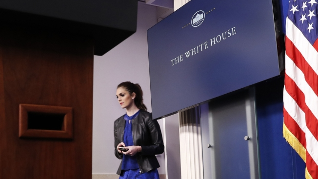 Hope Hicks named White House communications chief