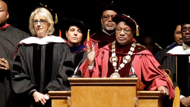 Betsy DeVos Delivers Commencement Speech To Bethune-Cookman