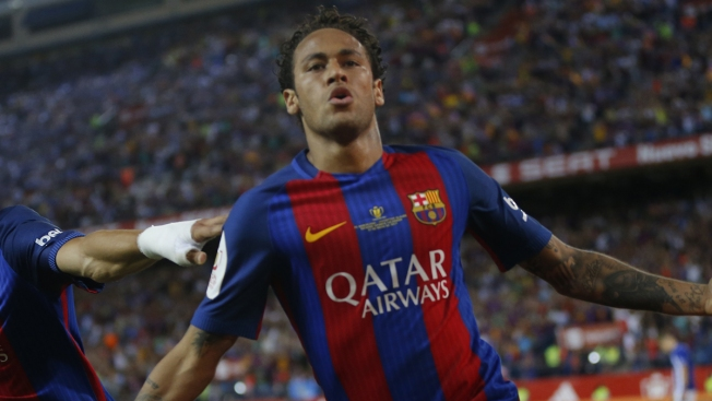 5599ae06629 Brazilian Soccer Star Neymar Shatters World Record With  262 Million Move  From Barcelona