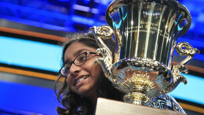 'I Knew Them All': Confident 12-Year-Old Girl Wins National Spelling Bee
