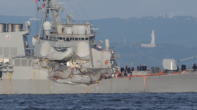 2 Sailors Killed in USS Fitzgerald Collision Were From San Diego