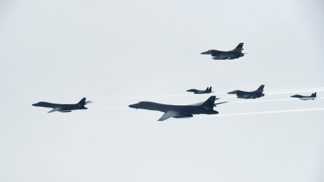 US Bombers Fly in S. Korea After North's 2nd ICBM Test