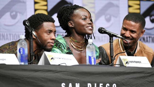 Did You See Lupita Nyong'o at San Diego Comic-Con?