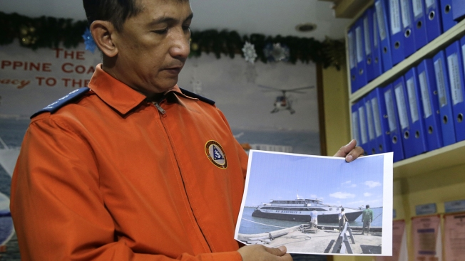 Ship with 251 passengers sinks off Quezon