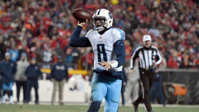 Titans QB throws touchdown pass to himself