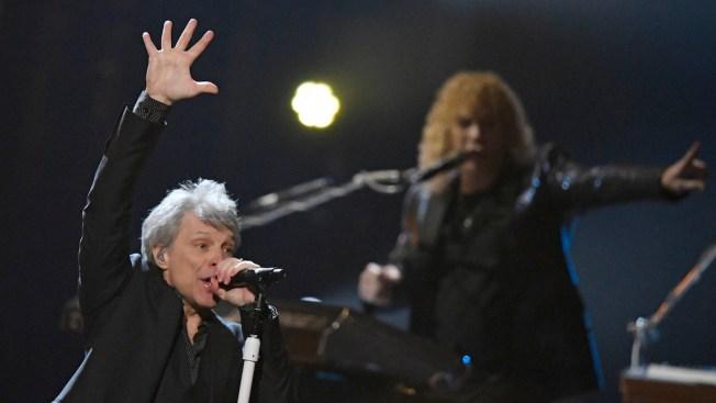 Bon Jovi Reunites to Enter Rock & Roll Hall of Fame