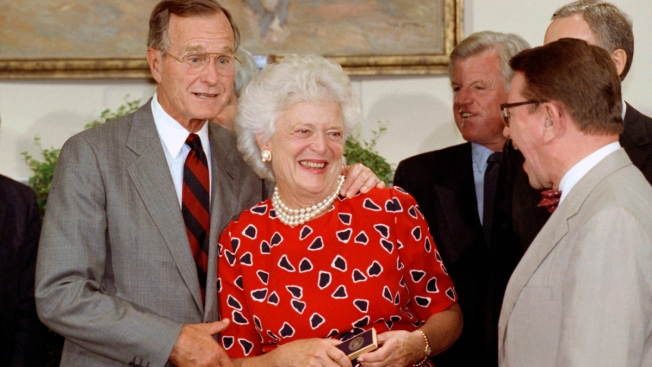 Authors Share Memories of Friendship with Barbara Bush