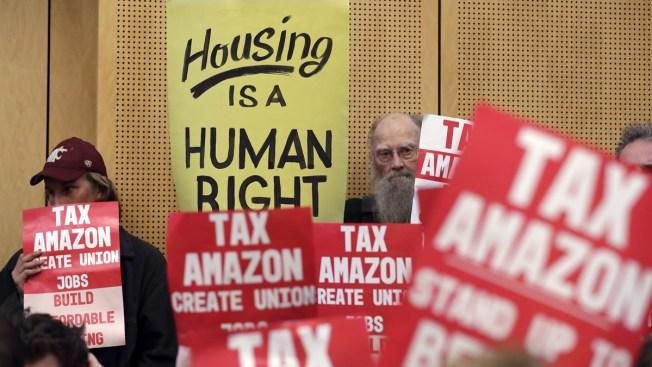Seattle OKs Tax on Companies Like Amazon, Starbucks to Help Homeless