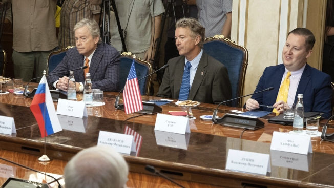 Sen. Rand Paul Says He Delivered Letter From Trump to Putin