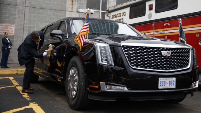 The President's New, Souped-Up Cadillac Limo Rolls Out