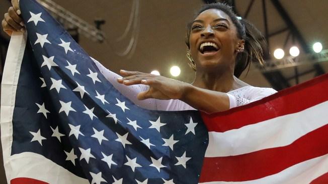 Simone Biles Wins 4th All-Around Title at Gymnastics World Championships