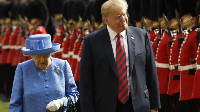 Trump to Pay State Visit to Britain, Queen in June