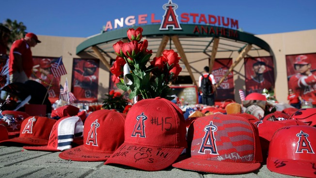 Grieving Angels Return for 1st Home Game Since Skaggs' Death