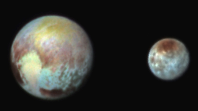 San Diegans Gather to Celebrate NASA's Pluto Photograph