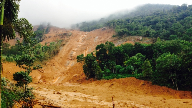 Over 200 Families Feared Buried by Landslides in Sri Lanka