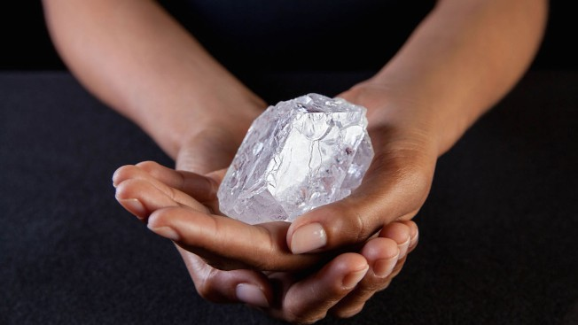 Diamond the Size of a Tennis Ball Could Fetch $70 Million at Auction