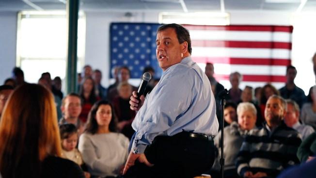 NJ Gov. Chris Christie Heads Home to Ponder Next Step in Presidential Campaign