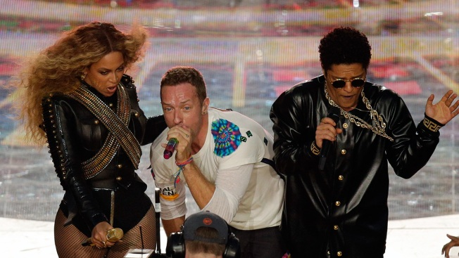 Beyonce, Coldplay, Bruno Mars Deliver Energetic, Nostalgic Super Bowl Halftime Show
