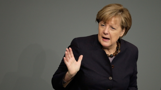 German Politician Sends Busload of Refugees to Merkel's Office