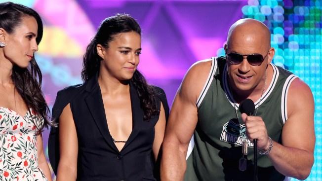 Vin Diesel Praises Paul Walker and Daughter Meadow Walker During Emotional Teen Choice Awards Speech