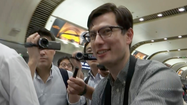 Australian Student Released in North Korea Says 'I'm OK'
