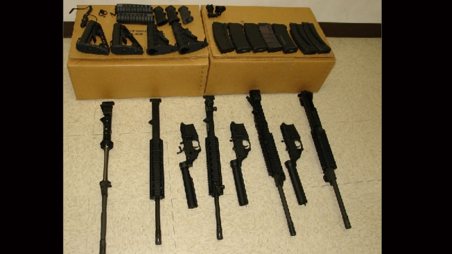 CBP: Man Tried to Smuggle Assault Rifles, Ammo to Mexico