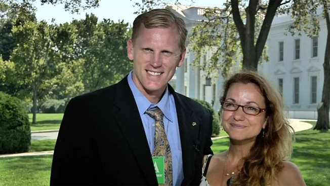 Escondido Marine Sgt. and Wife Honored at White House