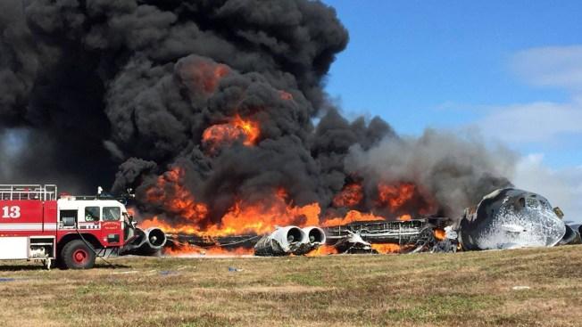 B-52 Crashes at Guam Air Base; No Injuries Reported