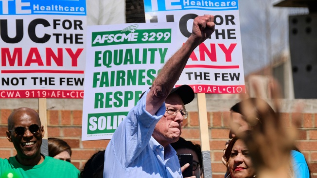 Democratic Candidates Vying to Show Solidarity With Workers