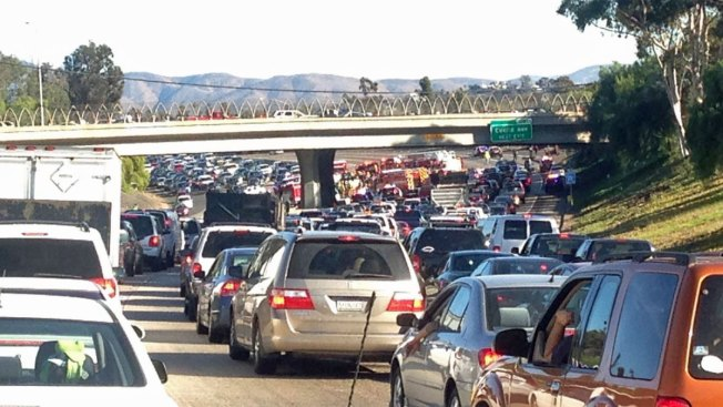 Crashes Slow Northbound Commute from South Bay