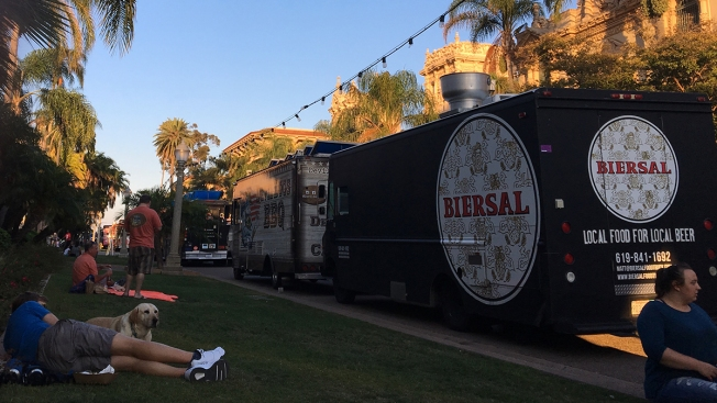 Holiday Food Truck Festival Fills Balboa Park With Eats & Entertainment
