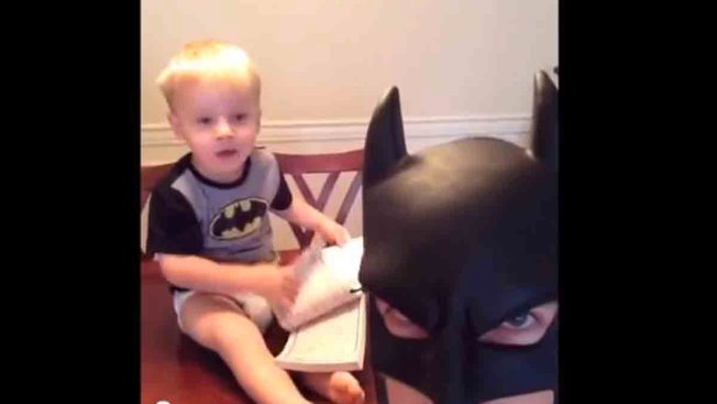 """Bat Dad"" Talks Viral Vine Videos: ""I'm Just a Normal Dad"""