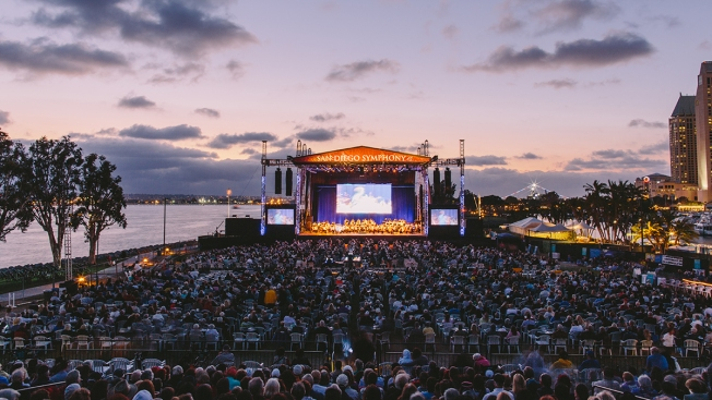 San Diego Symphony's Concerts Return to Waterfront