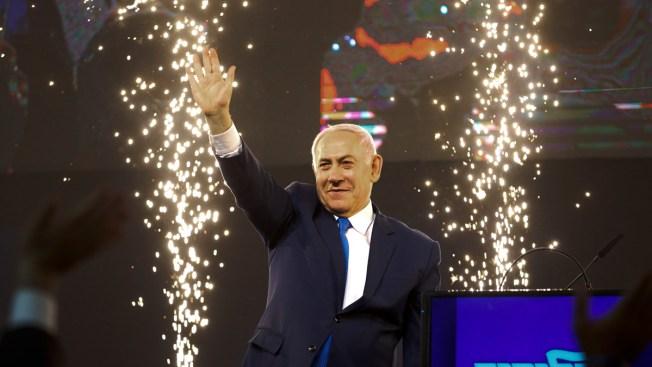 Netanyahu Appears to Edge Toward Re-Election in Israeli Vote