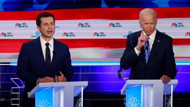 In Biden and Buttigieg, Dems Confront Generational Divide