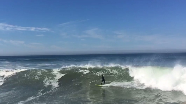 High Surfs, Strong Rip Currents Expected at Beaches