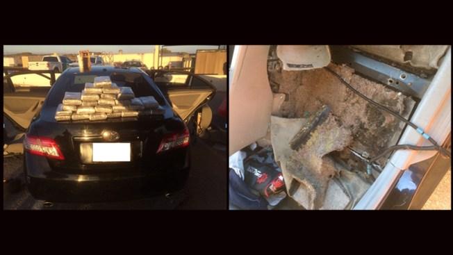 'Speeding' vehicle: 50 pounds of meth found in hybrid's gas tank